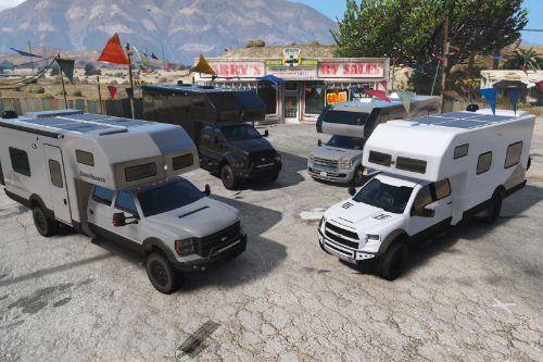 Vapid RV/Motorhome/Expedition Vehicle pack [Add-On | Enterable Interior]