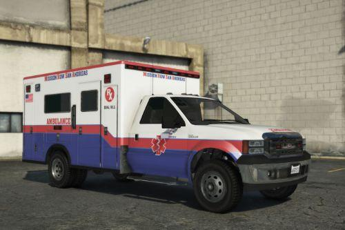 Vapid Sadler - Ambulance [Add-On]
