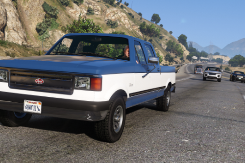 Vapid Sadler Retro Crew Cab [ Add-On / Replace ]