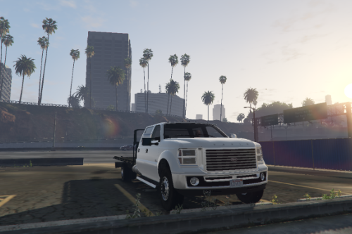 Vapid Sandking Flatbed Truck