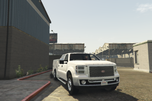 Vapid Sandking Utility Truck [Replace]