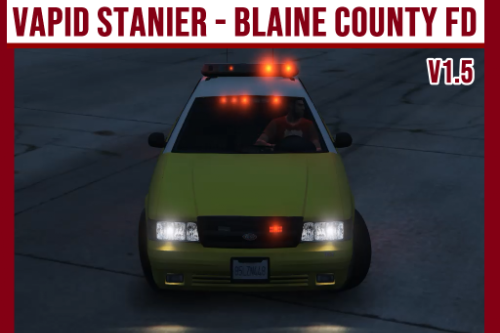 Vapid Stanier - Blaine County FD [Add-On]