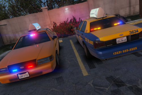 Vapid Stanier - LSPD Undercover Taxi [Add-On]