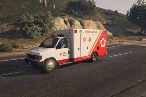 Vapid Steed Ambulance | Indonesian Red Cross / PMI Livery