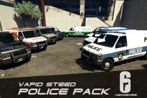 Vapid Steed Police Pack (Rainbow Six Siege) [Add-On]