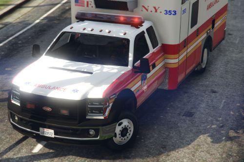 FDNY Ambulance Skin for Vapid V450