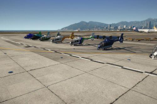Argentina helicopters variety