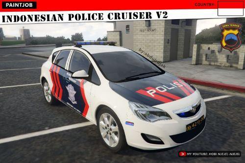 Vauxhall Astra - Indonesian Police Cruiser V2