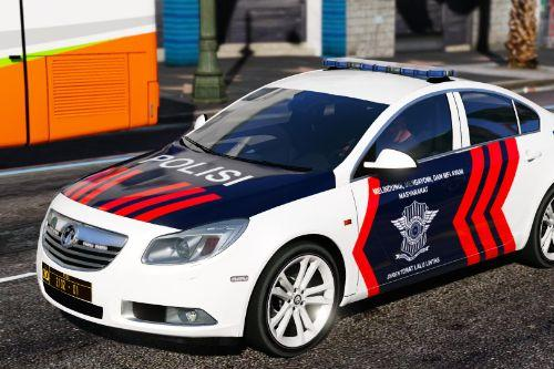 Vauxhall Insignia Indonesian Police PJR