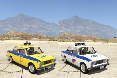 VAZ-2101-21011 LADA Police [Add-On | Extras]