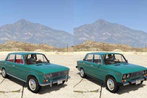 VAZ-2103-2106 LADA [Add-On | Extras | Tuning]
