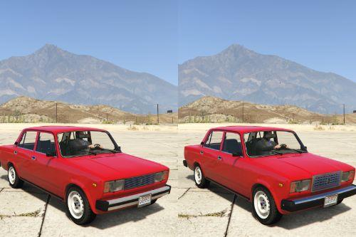 VAZ-2105-2107 LADA [Add-On | Extras | Tuning]