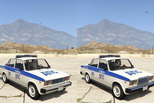 VAZ-2105-2107 LADA Police [Add-On | Extras]
