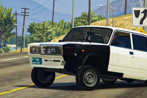 Vaz 2107 - Hooligan Style [Add-On / Replace | Tuning+ | Realistic Driving]