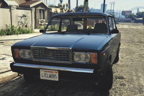 VAZ-2107 (Lada Riva) [Add-On / Replace | Tuning]