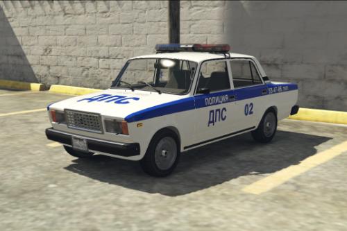 VAZ-2105-2107-LADA-POLICE