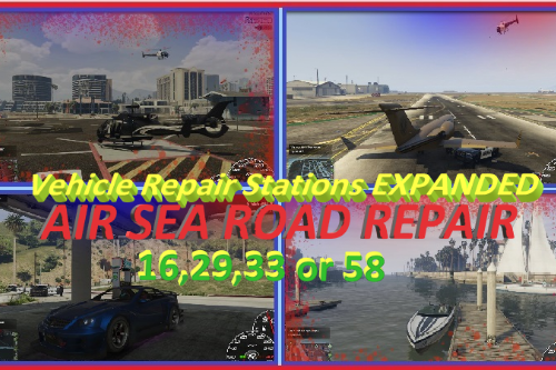 Vehicle Repair Station Expanded