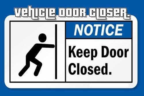 Vehicle Door Closer.