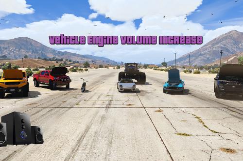 Vehicle Engine Volume Increase