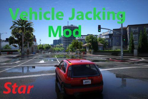 Vehicle Jacking = Wanted Level