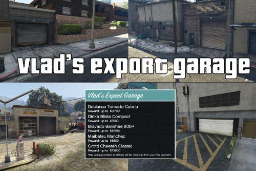 Vlad's Export Garage
