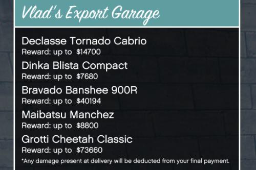 Vlad's Export Garage