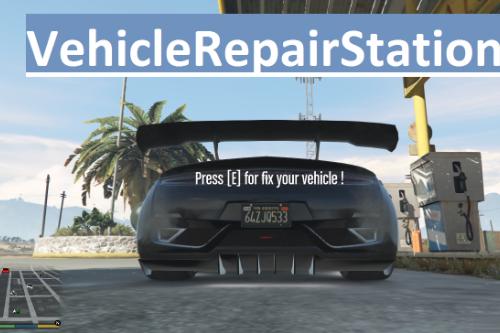 Vehicle Repair Station [LUA]