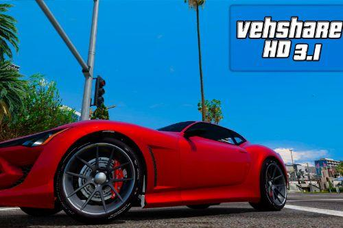 HD vehshare  (2K Car Textures)