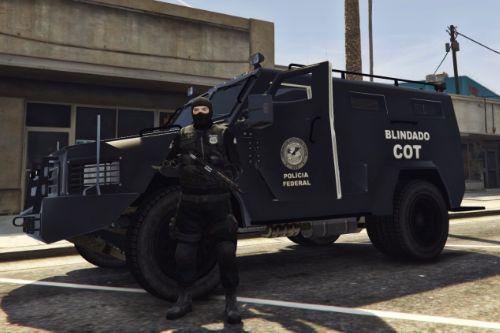 Veículo Blindado COT - Polícia Federal PF