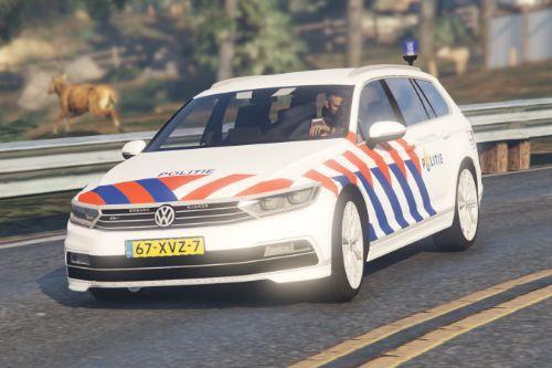 Verkeers Politie Volkswagen Passat (Dutch Traffic Police) [ELS]