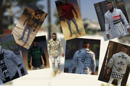 Versace Clothes Pack