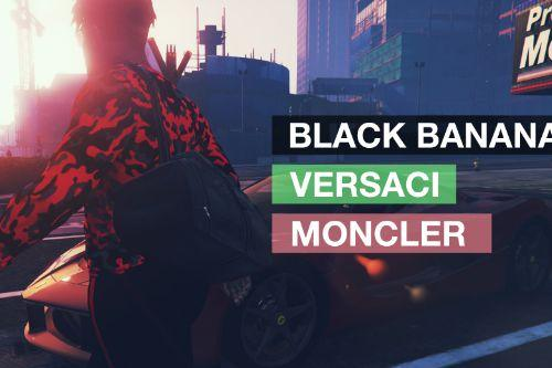 VERSACE x BLACK BANANAS x MONCLER - Clothing Package