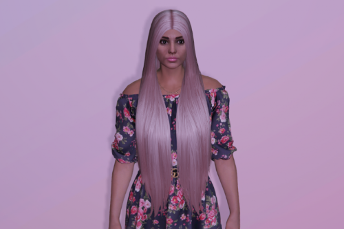 Very long hairstyle for MP Female