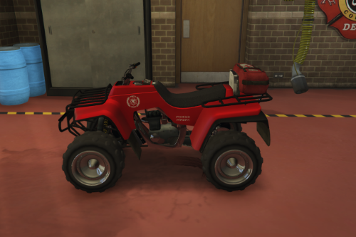Vespucci Beach | טרקטורון כיבוי אש - ATV fire department israel