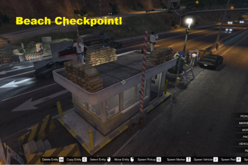 Vespucci Beach Checkpoint! [Map Editor]