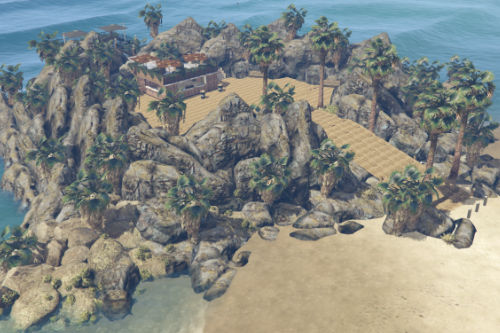 Vespucci Beach Island [YMAP | FiveM]