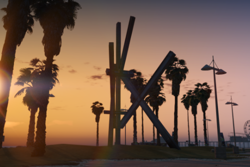 Vespucci Beach Sculpture