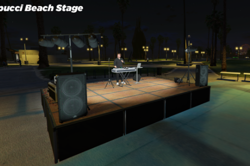 Vespucci Beach Stage 2020 [Menyoo Map]