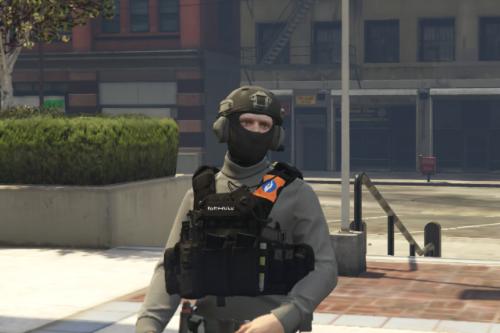 Police vest Belgium