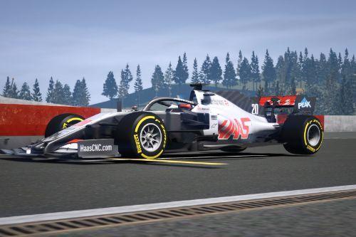 VF20 Haas F1 Formula One [Add on]
