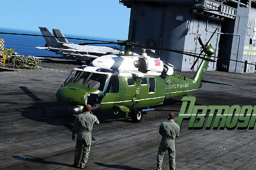 "VH-60N Whitehawk ""Marine One"" [8K]"