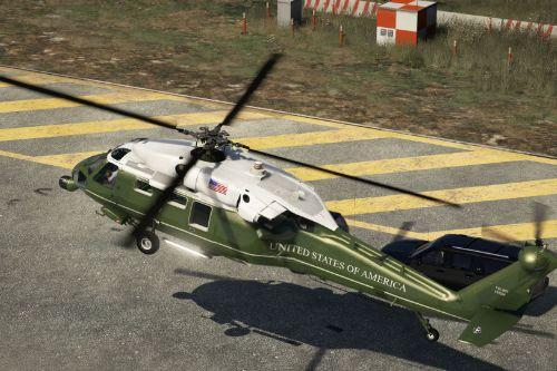 "VH-60N Whitehawk ""Marine One"" [Add-On 