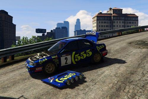 Vi's Subaru Rally Car [Add-On] [Replace-Wheels]