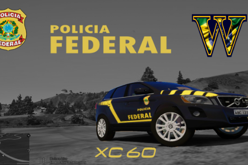Viatura Polícia Federal Brasileira PF Volvo XC60 - Brazilian Federal Police (FBI)