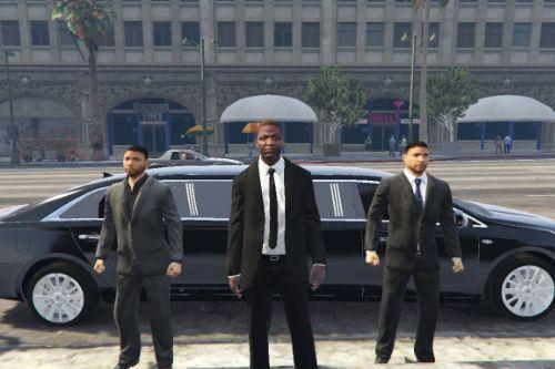 Vice President Arrives At Vinewood