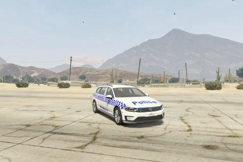 Victoria Police livery for ObsidianGames' 2017 Volkswagen Passat GTE Estate [Paintjob ONLY]