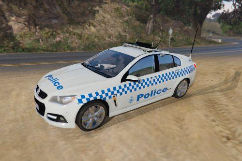 Victoria Police VF Commodore General Duties Skin