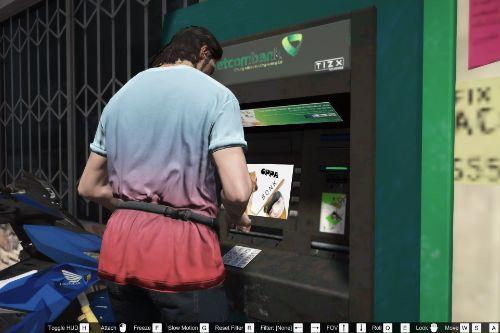 Vietcombank & Techcombank ATM [Re-texture]