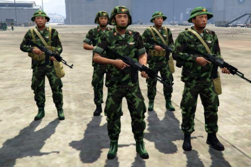 Vietnam People's Army [Add-On Ped]