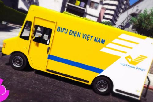 Vietnam Post Truck